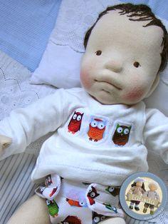 Baby boy doll by Lalinda.pl