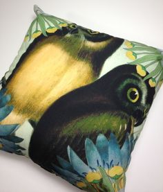 #owls #textiledesign #spring #cushion #prints #homedecor #pillows #homeaccesories