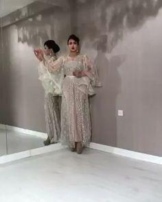 Arabic silver fashion look – Hijab Fashion 2020 Fall Fashion Outfits, Fashion Dresses, Muslimah Wedding Dress, Arabic Dress, Mother Of Bride Outfits, Mode Abaya, Abaya Fashion, Fashion Tights, Designer Party Wear Dresses