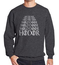 Hoody 2017 Game of Thrones HODOR men's sportswear spring winter fleece sweatshirt men fashion brand-clothing hoodies harajuku