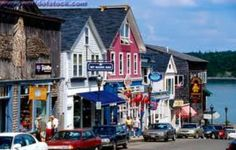 Bar Harbour Maine - I've walked this street :)