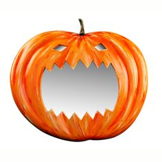 Watch out for the Pumpkin Mirror - for outdoors and indoors decorations and parties...!