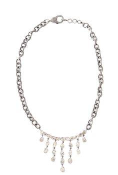 The Woods Polki Diamond Chandelier Necklace at ShopGoldyn.com