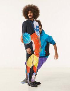 Nike x Black Rainbow – Les photos en double exposition de Jean-Yves Lemoigne