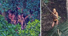 Incredible Photos Of An Uncontacted Amazon Tribe That Doesn't Know Our Civilization Exists | Bored Panda