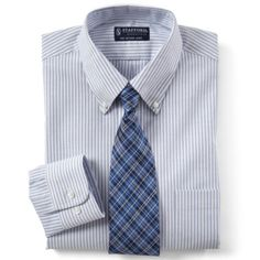 Mr. Stephens - Stafford® Travel Wrinkle-Free Oxford Dress Shirt  found at @JCPenney