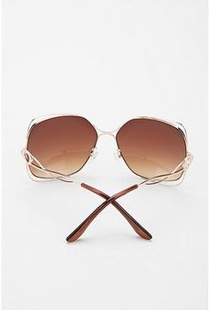 '70s Square Metal Sunglasses...had some square glasses