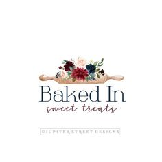 Baking Logo Ideas New Ideas Logo Patisserie, Baking Logo Design, Branding Kit, Bakery Branding, Baking Business, Cake Logo, Flower Logo, Pin Logo, Sale Banner