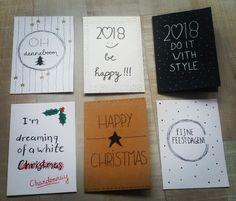 Handletteren handlettering kerstkaart kerst kaart diy feestdagen feestdagen 2018 Diy Cards, Christmas Cards, Sustainable Design, Interior Design Living Room, Design Trends, Color Schemes, Card Making, Arts And Crafts, Room Decor