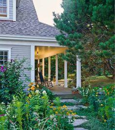 Cottage Garden, Georgetown Maine