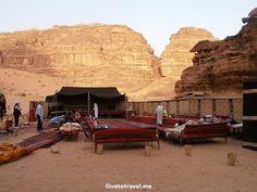 Bedouin desert #camp in #Jordan's Wadi Rum