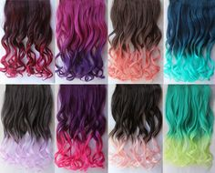 Trendy hair color crazy pastel tips 52 ideas Hair Tips Dyed Red, Dyed Tips, Dip Dye Hair, Dye My Hair, Dip Dyed Hair Brown, Dyed Hair Ends, Colored Hair Ends, Brown Hair, Cute Hair Colors