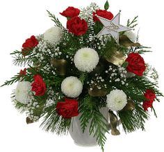 Budget Christmas flowers and poinsettias by Canada Flowers. Featuring our lowest prices on Holiday flowers and gifts for delivery in Canada. Best Flower Delivery, Online Flower Delivery, Flower Delivery Service, Christmas Arrangements, Christmas Centerpieces, Floral Arrangements, Flower Arrangement, Xmas Decorations, Christmas Flowers