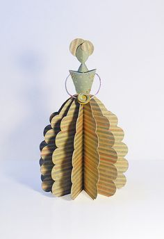 Ana's Paper Doll by Carlos N. Molina - Paper Art, via Flickr