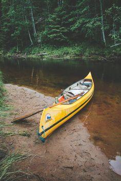 Paddla kanot i Svågadalen - karinevelina.se