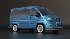 You can buy a brand new Citroen H Van – En Güncel Araba Resimleri Citroen Type H, Citroen H Van, Citroen Concept, Concept Cars, Retro Cars, Vintage Cars, Vans, Moto Miniature, Old Ford Trucks