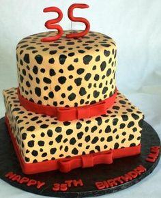 Leopard Print Wedding Cake Wedding cake Leopards and Cake