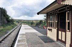 START OF A JOURNEY: Pontypool and Blaenavon Railway station at Big Pit, Blaenavon. PIC: Becky Matthews