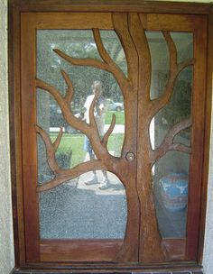 Tree door - Hey honey, would you mind whipping up a door like this with your new tools?? @Dawson Clawson