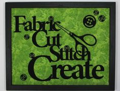Nancy Zieman Fast & Fusible Wall Decor Appliques laser cut wall art Fabric Cut Stitch Create