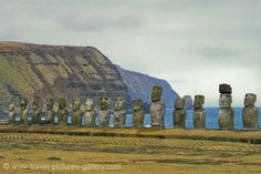 Easter Island.  Trying to figure out a Chilean, Easter Island trip for our 10th anniversary