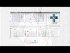 Imagen Corporativa Farmacia Vergel Shops, Dumb And Dumber, Bar Chart, Arch, Design, Inspiration, Shop Displays, Logos, Tatuajes