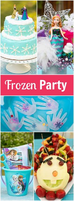 How to plan an amazing frozen birthday party without spending a ton of money. Ideas for decorations, food, activities and more! Frozen Themed Birthday Party, Birthday Party Hats, Birthday Ideas, Birthday Fun, Frozen Tea Party, Disney Frozen Party, Just Dance, Frozen Decorations, Party Activities