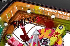 Richard Mille RM68-01 - graffiti detail - Perpetuelle