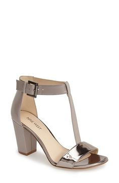 Nine West 'Brannah' T-Strap Sandal (Women) available at #Nordstrom