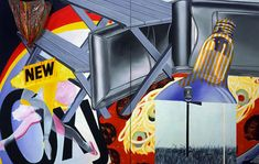 James Rosenquist - Nomad - 1963 - Albright-Knox Art Gallery, Buffalo, New York Rosenquist's pop-art dig at media-manipulated mindless consumerism, Nomad Arte Pop, James Rosenquist, Modern Art, Contemporary Art, Jim Dine, Pop Art Artists, Claes Oldenburg, Pop Art Movement, Jr Art