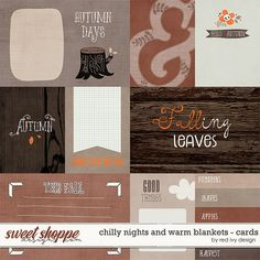 Chilly Nights and Warm Blankets - Cards by Red Ivy Design