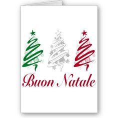 buon natale greeting cards from http://www.zazzle.com/italian+christmas+cards