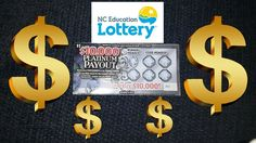 $10,000 Platinum Payout NC Lottery Ticket