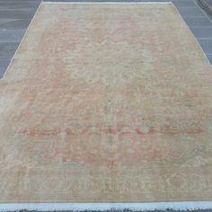 Turkish vintage rug Wool Area Rugs, Wool Rug, Boho Decor, Bohemian Rug, Handmade Rugs, Handmade Gifts, Small Rugs, Rugs On Carpet, Farmhouse Decor