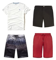 Banho 2 by wishmemuke on Polyvore featuring Hollister Co., men's fashion and menswear
