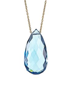 Take a look at this London Blue Topaz Color Pop Necklace on zulily today!
