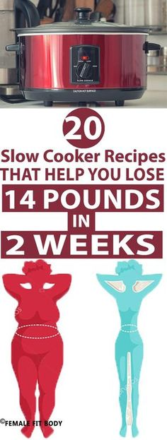 Power on your crock pot. Slow cooker- RECIPES 14pounds in 2 weeks