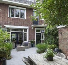 Tuinhuis model half open met kunstrieten dak tuinhuizen prieelen afsluitingen - Moderne buiteninrichting ...