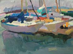 Marina by Larisa Aukon Oil ~ 12 x 16