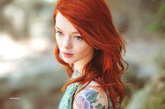 Portrait taken by lovely Hildreth (Model: Lass)