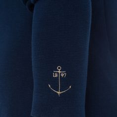 Cardigan Angel This cardigan in navy blue from the current fall/winter collection is made of high-quality material and will keep you perfectly warm in cold weather.