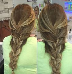 Braid hairstyles – all time best ombre braids for long hair