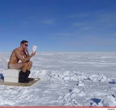 Alexander Skarsgard -- Deuces ... Naked From the South Pole