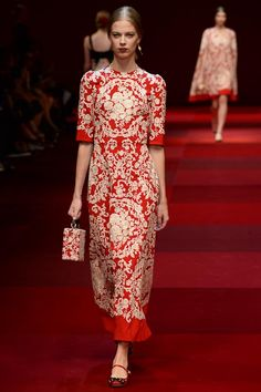 Dolce & Gabbana Spring 2015 Ready-to-Wear - Collection