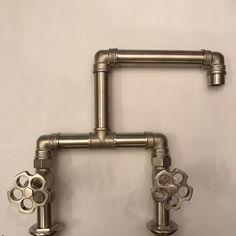 Industrial washbasin mixer