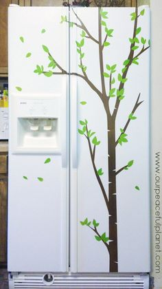 My Old Fridge Makeover
