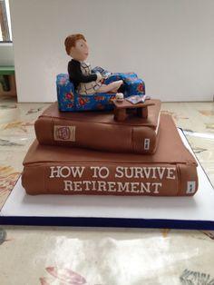 Gill's retirement cake