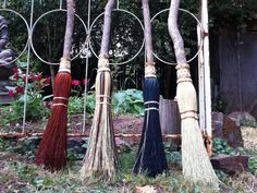 Wedding Besom or Handfasting Broom in your choice of by BROOMCHICK