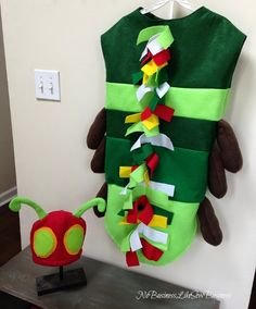 No Business Like Sew Business: The Very Hungry Caterpillar Costume