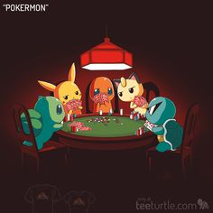 """Go all-in with our new design """"Pokermon!"""""""